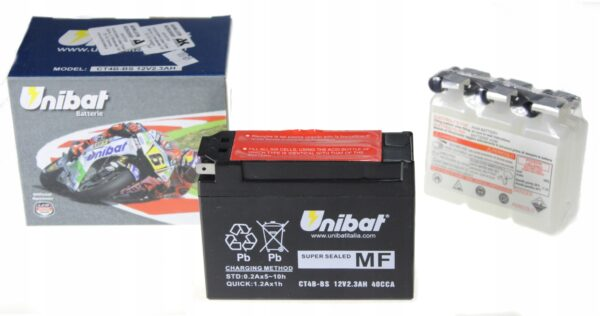 Akumulator UNIBAT CT4B-BS DR-Z 70 SR 400 TT-R