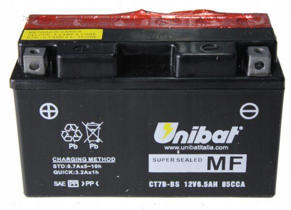 Akumulator UNIBAT CT7B-BS YFZ YP XC 125 DR-Z