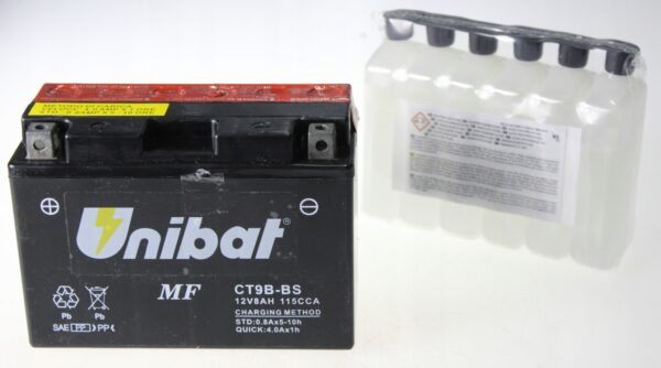 Akumulator UNIBAT CT9B-BS KTR MT 03 YFM YP R7 R6