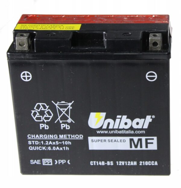 Akumulator UNIBAT CT14B-BS FJR FZS MT-01 XJR XVS