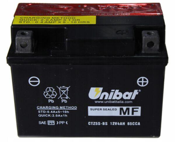 Akumulator UNIBAT CTZ5S-BS CRF MSX AF FZ150 T135