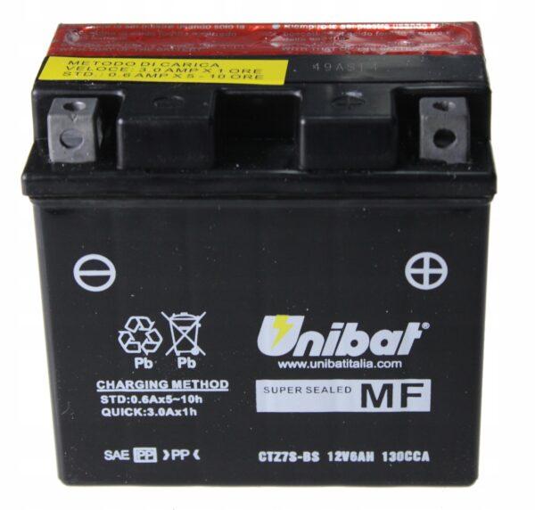 Akumulator UNIBAT CTZ7S-BS SR CB CBR1000 EXC WR