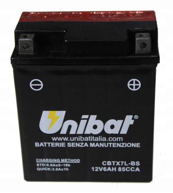 Akumulator UNIBAT CBTX7L-BS RS4 SR125 GP1 CB250