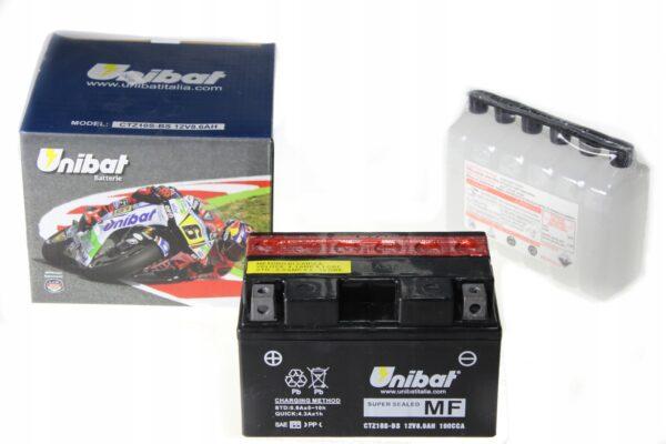 Akumulator UNIBAT CTZ10S-BS RSV RXV CBF FZ07 MT09