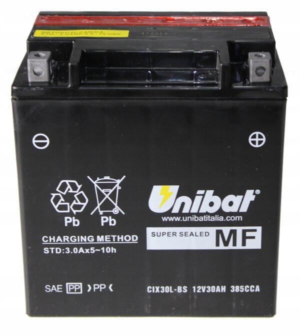 Akumulator UNIBAT CIX30L-BS BMW K/R 100 HARLEY FLH