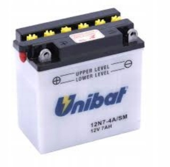 Akumulator UNIBAT 12N7-4A EXT XLCH VESPA B200 T150