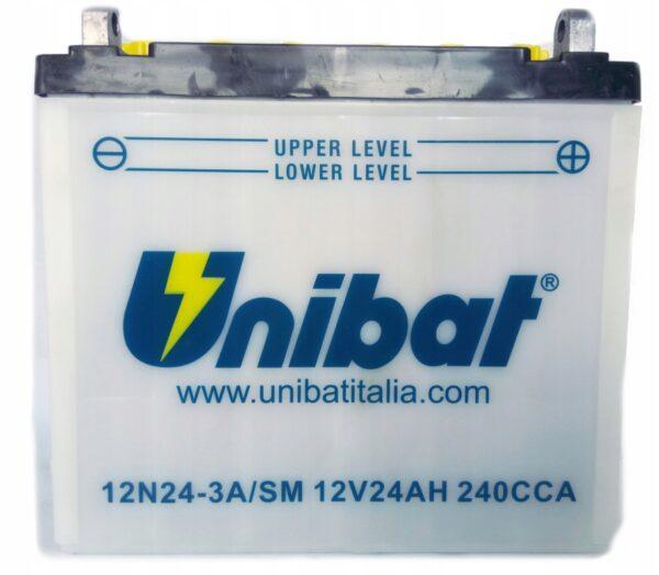 Akumulator UNIB. 12N24-3A Motocarro Galleto Porter