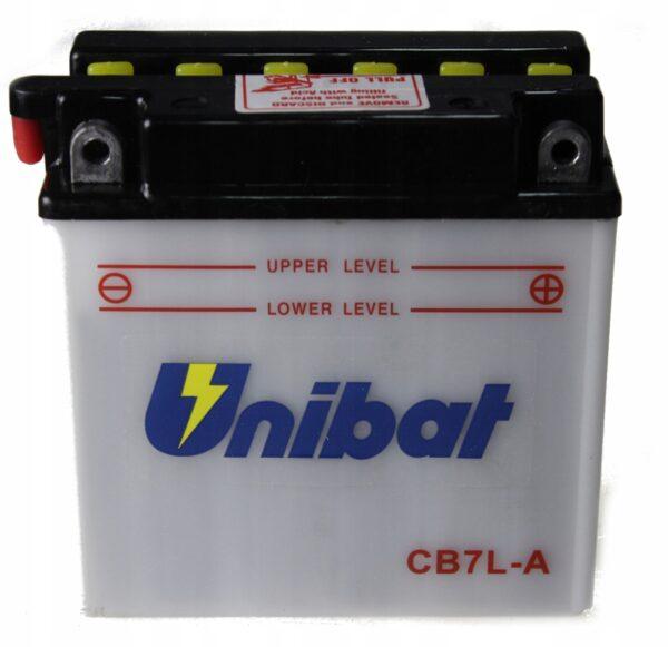 Akumulator UNIBAT CB7L-A