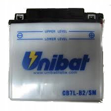 Akumulator UNIBAT CB7L-B2 ELYSEO 100 JET FORCE 50
