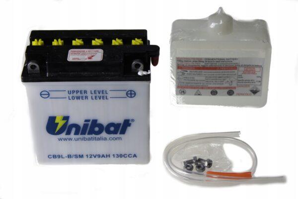 Akumulator UNIBAT CB9L-B VFR 400 TGB BULL TAPO