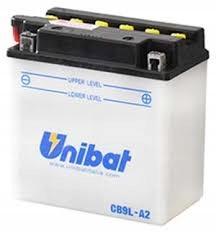 Akumulator UNIBAT CB9L-A2 ELEKT. GPZ 305 EL 250 SX