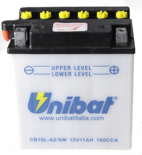 Akumulator UNIBAT CB10L-A2 GSX 400 XV 125H VIRAGO