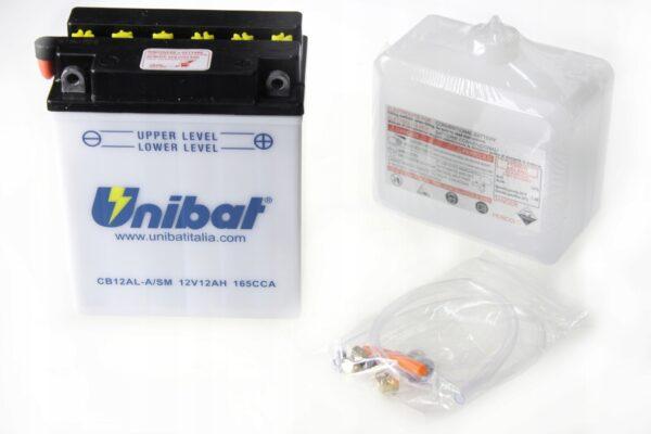Akumulator UNIBAT CB12AL-A ATLANTIC LEONARDO F650
