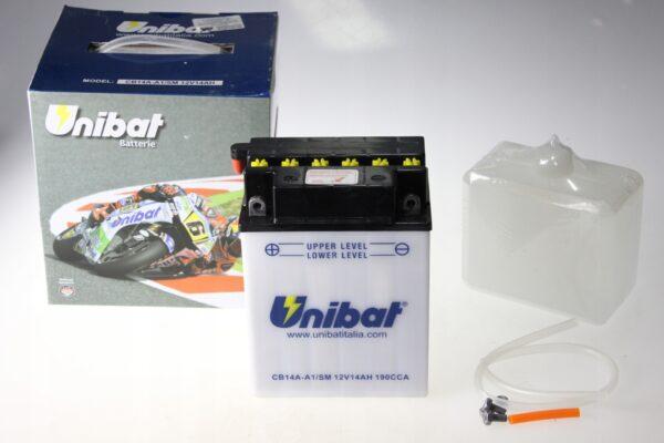 Akumulator UNIBAT CB14A-A1 JET LIQUID JAG PANTHER