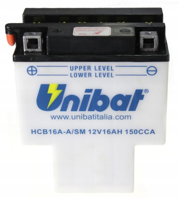 Akumulator UNIBAT HCB16A-A HONDA VT 1100 SHADOW