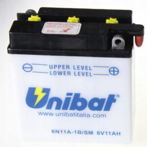 Akumulator UNIBAT 6N11A-1B R27 K152 T90 TS250