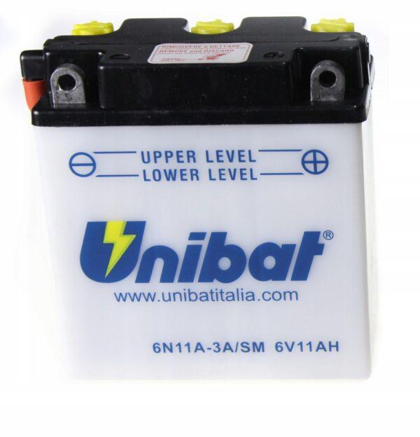 Akumulator UNIBAT 6N11A-3A VESPA 50 TOUREN