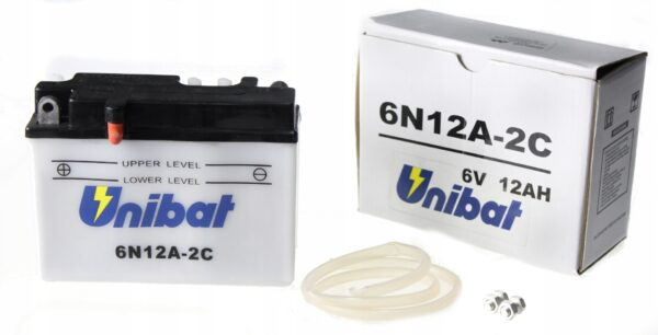 Akumulator UNIBAT 6N12A-2C
