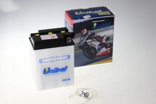 Akumulator UNIBAT B38-6A ELEKT. TRIUMPH T120 TR6 7