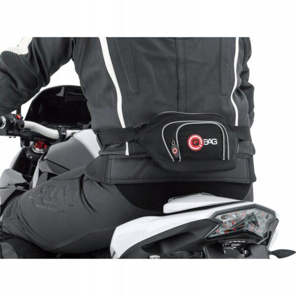 Saszetka torba nerka motocyklisty na pasek QBAG 1L