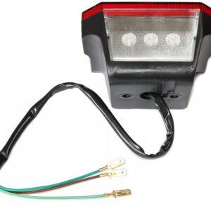 Lampa tylna tył LED kwadrat MZ ETZ 150 250 251