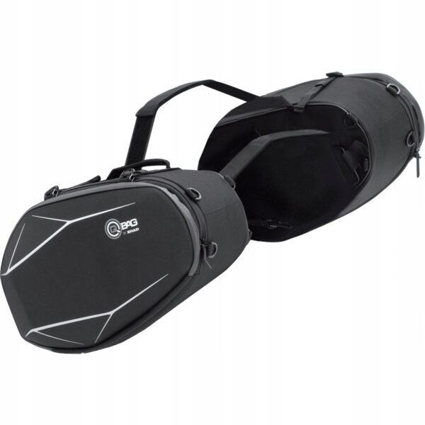 Sakwy boczne bagażowe QBAG 05 — 40-52 L – SZTYWNE