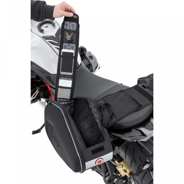 Sakwy boczne bagażowe QBAG 03 — 38-60 L – SZTYWNE