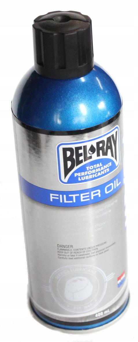 Olej do FILTRÓW POWIETRZA SPRAY BEL-RAY 400 ml