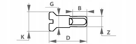 Szprychy nierdzewne JAWA TS 350 tył – 147 mm
