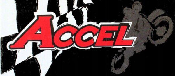 Końcówki Ciężarki Kierownicy ACCEL BEC04RD RED