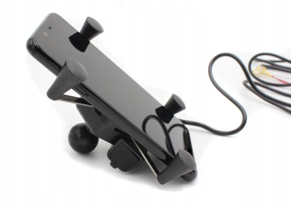 Uchwyt RAM X-GRIP z ładowaniem USB – TELEFON NAVI