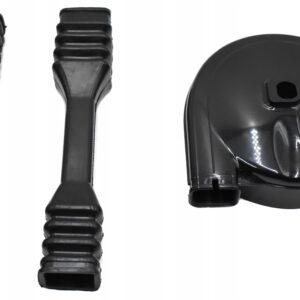 Osłona zębatki gumy łańcucha MZ TS250 komplet