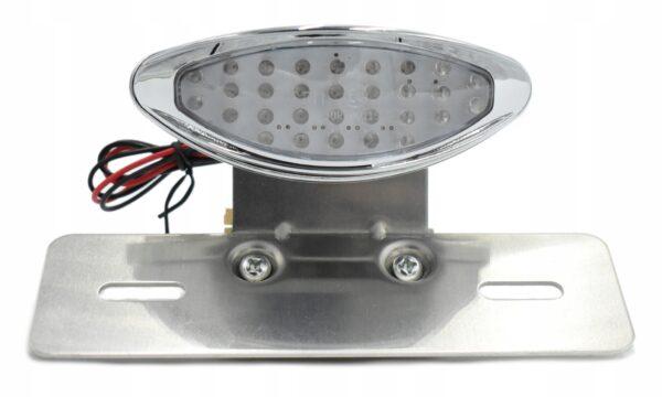 LAMPA TYLNA LED CHOPPER CUSTOM MOCOWANIE TABLICY