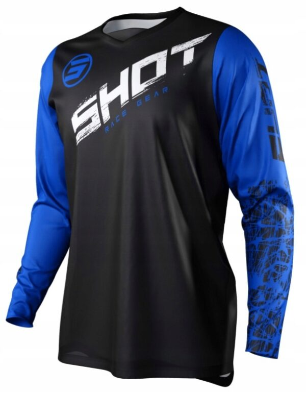Koszulka SHOT 2021 CROSS ENDURO DEVO SLAM BLUE L