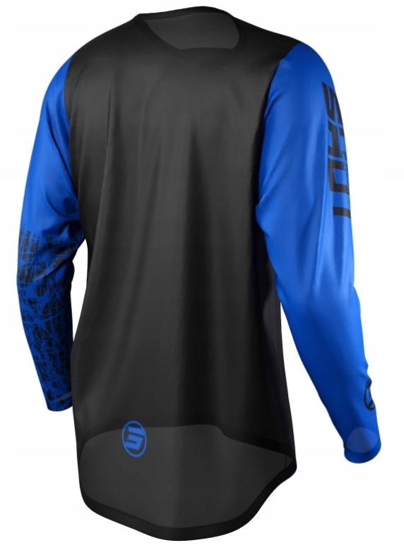 Koszulka SHOT 2021 CROSS ENDURO DEVO SLAM BLUE XL