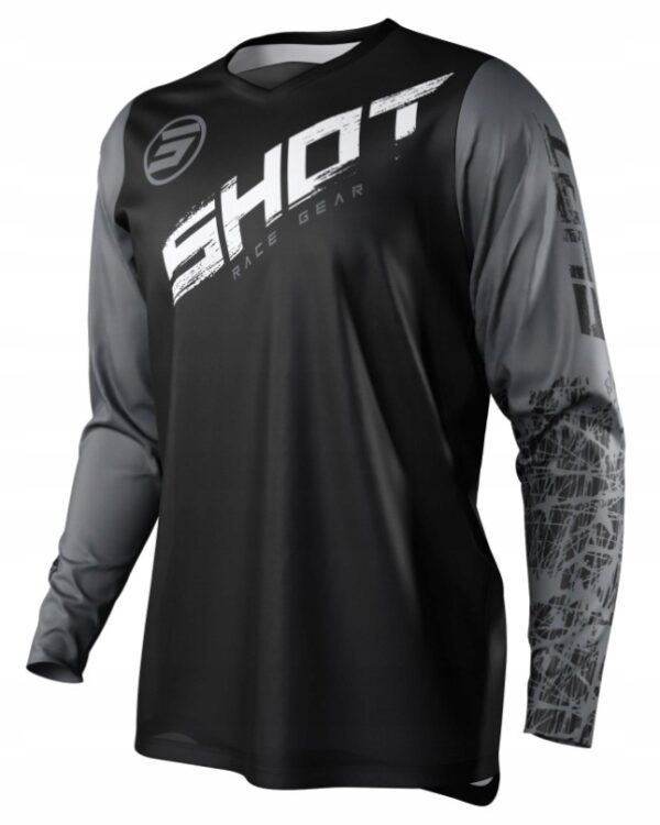 Koszulka SHOT 2021 CROSS ENDURO DEVO SLAM GREY XL
