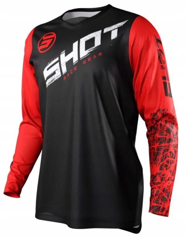 Koszulka SHOT 2021 CROSS ENDURO DEVO SLAM RED XXL
